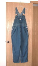 Old Navy Carpenter 9 Pocket Denim Jean Bib Overalls Womens XL