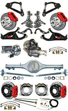 "NEW 2"" DROP SUSPENSION & WILWOOD BRAKE SET,CURRIE REAR END,ARMS,POSI GEAR,676974"