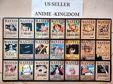 Custom Yugioh Playmat Play Mat Large Mouse Pad One Piece Most Wanted Bounty #336
