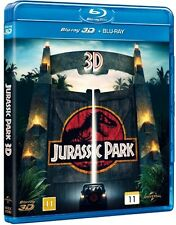 Jurassic Park 3D +2D Blu-Ray 2-disc set 3-D multi language incl. Hebrew subs