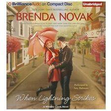 When Lightning Strikes (Whiskey Creek Series), Novak, Brenda, Excellent Book