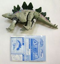 TAKARA TRANSFORMERS BEAST WARS NEO : SABERBACK(Stegosaurus) Action Figure No Box