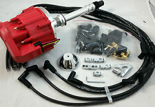 SB Chevy SBC 65,000 Volt New  H.E.I HEI Distributor Kit W/ 8.5MM  Wires 327 350