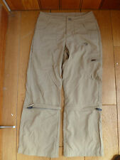 Mountain Hard Wear Girls Beige Zip Off Upf 30 Desira Pantalones M BNWT