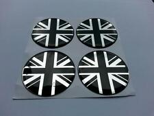 60mm Roue Alliage Centre Centre Badges Union Jack GB Divers Logo 16m(b/c)