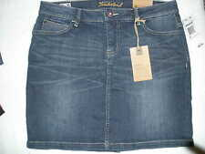 WOMENS' TIMBERLAND *MEADOW LAKE DENIM SKIRT* COLOR QUARRY WASH  DENIM SIZE 6
