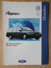 FORD MONDEO ASPEN 1994 UK Mkt sales brochure