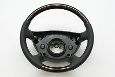 Walnut Wood w/ Leather Steering Wheel Normal1 for Mercedes Benz W211 E Class