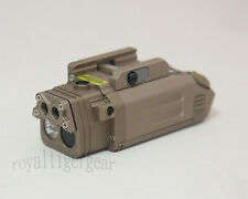 Metal DBAL-PL Weapon Light /Strobe /IR Illuminator /IR Laser/Laser - Dark Earth