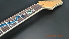 New Maple Guitar Neck Dragon Inlay 24 Fret Rosewood Fret Board