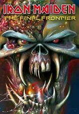 IRON MAIDEN Heavy Metal Band Final Frontier FABRIC POSTER BANNER FLAG 30x40 New