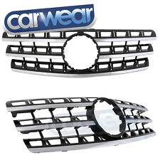 MERCEDES-BENZ W164 09-12 M-CLASS ML BLACK GRILLE 280CDI 320CDI 350