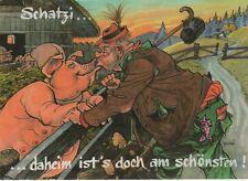 1/144  AK HUMOR  SCHWEIN UND SAU ARMBRUSTSCHÜTZENZELT OKTOBERFEST 1981