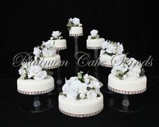 8 TIER CASCADE WEDDING CAKE STAND CUPCAKE STAND (STYLE # 8)