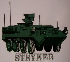 Window Bumper Sticker Military Army M1126 Stryker Fighting Vehicle NEW Decal