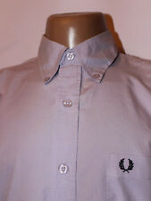 Mens Genuine Fred Perry Short Sleeve Shirt - L