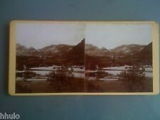 STB986 Vue du Tarn montagne paysage nature stereoview photo STEREO
