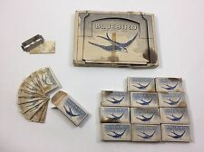 BLUEBIRD RAZOR BLADES 12 pack of 12 - 144 pcs Safety SHEFFIELD ENGLAND Vintage