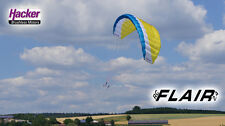 Hacker Para ARF Set RC Flair Petrol/White/Yellow Paraglider Harness Engine Robin