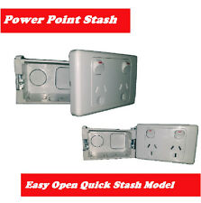 Power Point Stash Secret Electriclal Outlet Diversion Safe Hidden Compartment