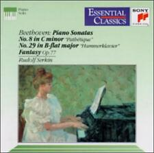 Beethoven: Piano Sonatas No. 8 Pathetique & No. 29 Hammerklavier; Fantasy, Op. 7