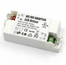30W 240V - DC 12V Power Supply Transformer LED Driver for G4 MR11 MR16 LED Strip