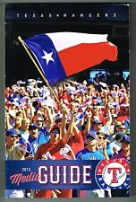 2013 Texas Rangers MLB Baseball Media GUIDE