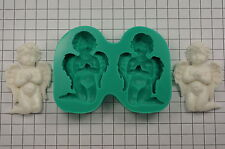 Sugarcraft Moulds Wedding Cake Decorating Silicone Molds Crafts Cherubs (7024)