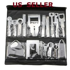 38Pcs Car Stereo Radio Release Removal Tools Key Kit Set For Sony Ford Audi JVC