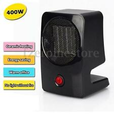 Portable 400W Electric Fan Heater Mini Desktop Warm Convector Winter Space Home