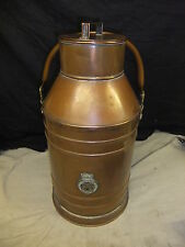 Copper milk churn ? VICTORIAN ? 96th foot 46x23cm excellent