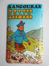 Autocollant Kangourak Salik Tintin ETAT NEUF