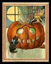 Halloween Faries Miniature Dollhouse Picture