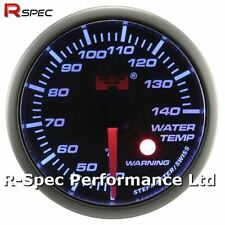 52mm Blue Stepper Motor Warning Water Temperature Temp Gauge With Warning Light