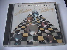 MODERN TALKING LET'S TALK ABOUT LOVE 1st Press CD ITALO EUROBEAT C C CATCH RARE