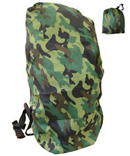 Army Combat Military Rucksack Cover Dry Pack Waterproof Woodland DPM Camo Large