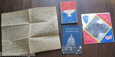 old paper lot: I Am An American 1940,Constitution of USA 1956,Ballad of Gaspee