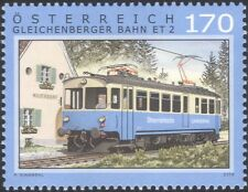 Autriche 2016 trains/chemins de fer/electric rail voiture/moteurs/transport 1v (at1213)