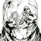 RED HOOD AND THE OUTLAWS #16 Cover ART PRINT Signed BATT Tyler Kirkham STARFIRE