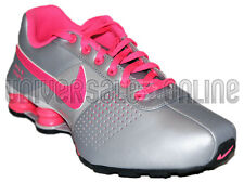 NEW NIKE SHOX DELIVER SIZE 5.5Y / 7 WOMEN'S - SILVER PINK [318145-061]