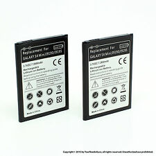 2 x 2800mAh Battery for Samsung Galaxy S4 IV Mini i9195 i9190 i9192 B500