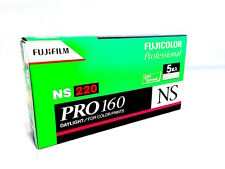 New 5 Rolls FUJIFILM PRO160 NS 220 Color Negative Film FUJICOLOR Fuji Japan
