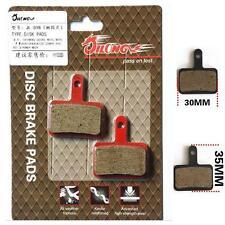 Pair Organic Bike Disc Brake pads for Shimano M375,M956,M395,M446&M515/TEKTRO XW