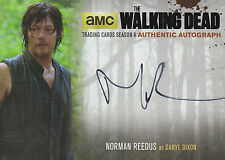 The Walking Dead Season 4/1 Autograph Card NR2 Norman Reedus As Daryl Dixon