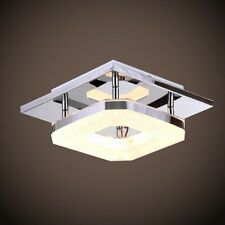 Modern Flush Mount Crystal Chandelier Pendant LED Light Ceiling Lamp Lighting