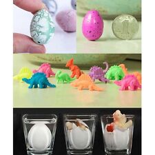 6Pcs Dino Egg Growing Hatching Dinosaur Add Water Child Inflatable Kid Toy JS