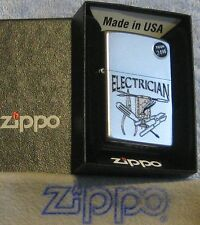 ZIPPO WORK  SERIES Lighter  ELECTRICIAN  Wire Cutters TESTER   Mint in Box 2015