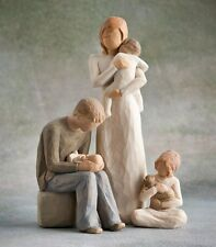 Willow Tree Mother & Father with 3 Children (Opt3) Figurine Gift Set   23368
