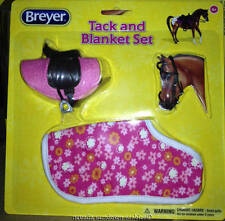 Breyer Collectable Horse Accessories Classic English Pink Tack & Blanket set