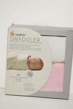 Ergobaby Swaddler M-L, 3-6 Months (12-18 lbs) - Pink and Natural
